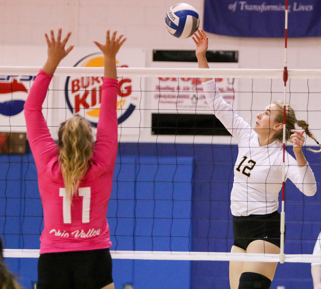 Volleyball Forces Fifth Set, But Falls On Road To Cedarville