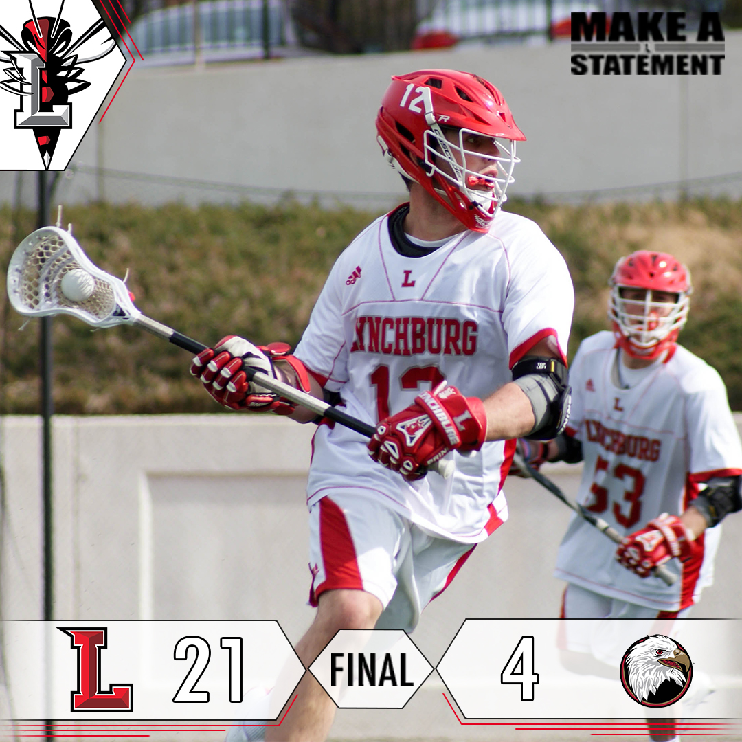 Men's Lacrosse Rolls Past Bridgewater, 21-4