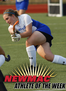 Whitaker Named NEWMAC Defensive Player of the Week