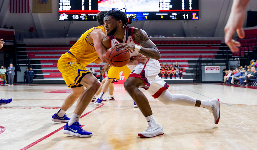 Lewis Terrorizes Terriers in NJIT's 82-60 Rout
