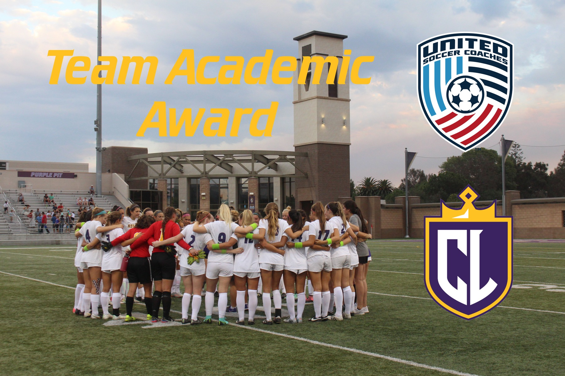 Regals Soccer Earns Team Academic Award