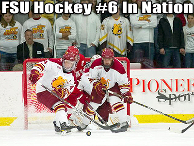 FSU Hockey Ranked Sixth In All Three Polls