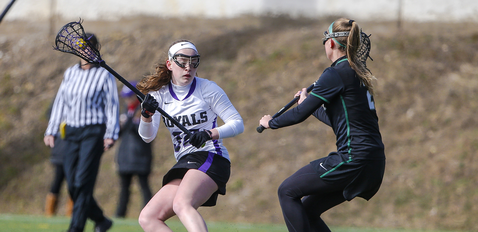 Sophomore Christine Olert scored four goals, as the University of Scranton women's lacrosse team opened a 12-2 lead in the first half and never looked back in a 17-8 win over Susquehanna on Saturday.