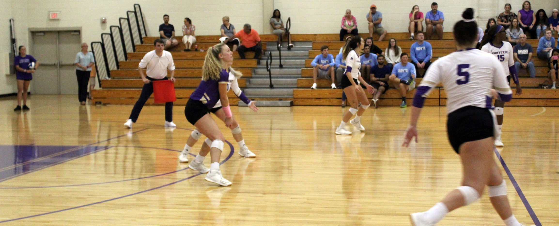 Valkyries Volleyball Sweeps Southern Wesleyan: Earns Program's First Victory Over Warriors
