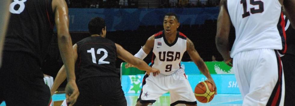 Orlando Johnson (Photo courtesy of USA Basketball)