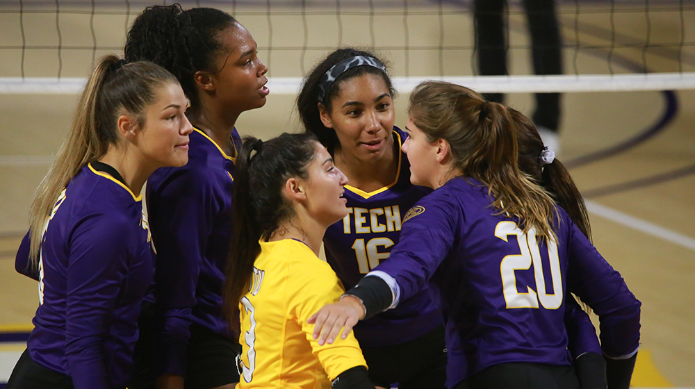 Volleyball opens home slate with Golden Eagle Invitational