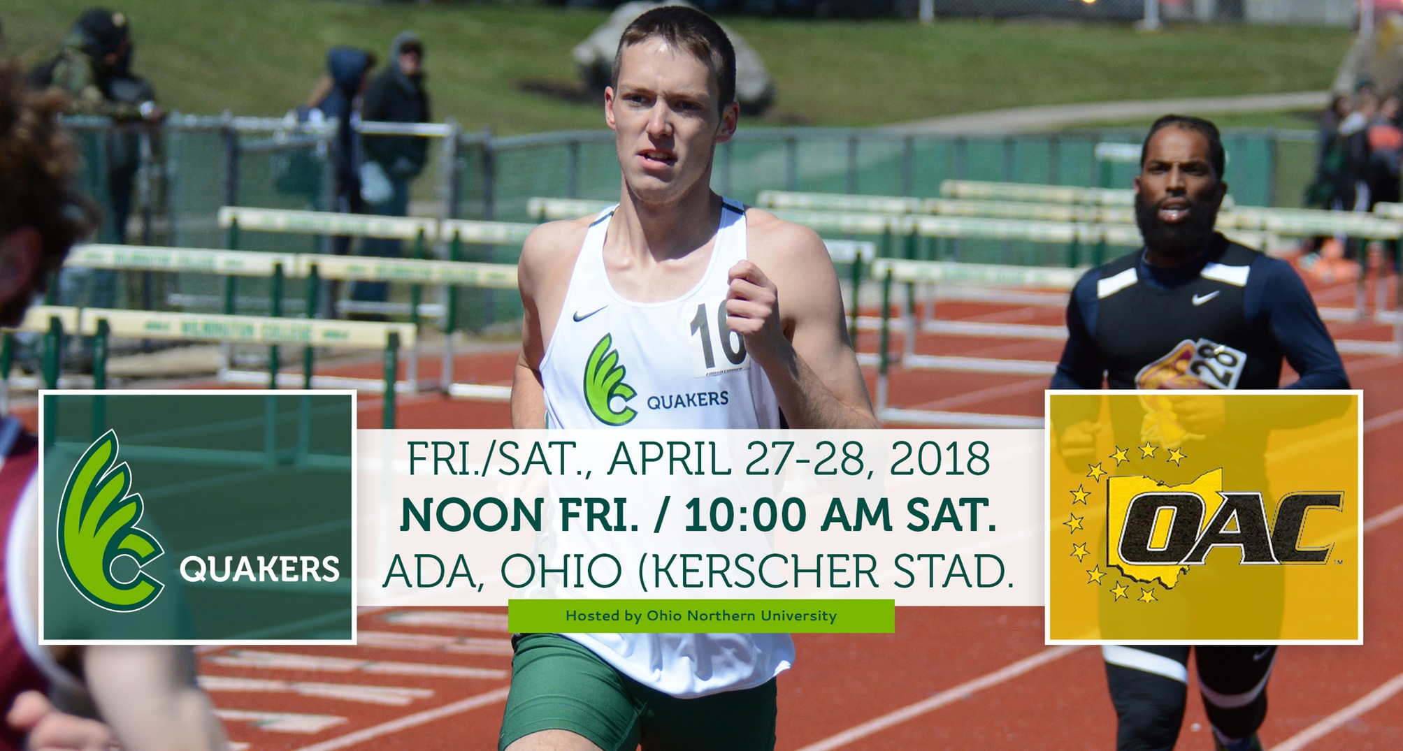 Men's Track & Field Heads to Ohio Northern for OAC Outdoor Championships