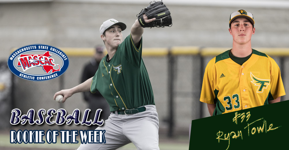 Towle Selected MASCAC Baseball Rookie Of The Week