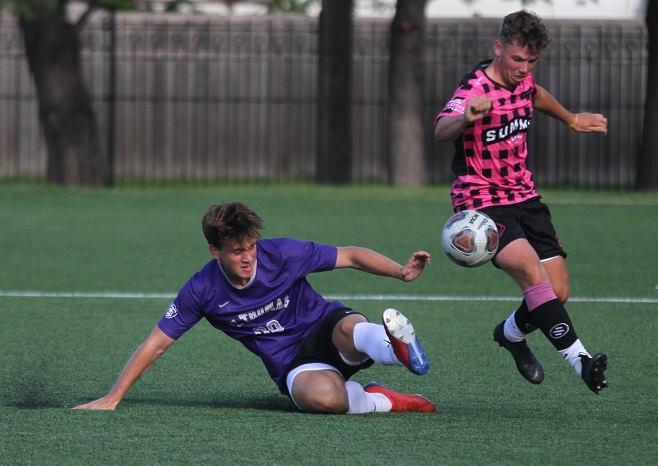 Men's Soccer action photos from Aug. 24 home scrimmage
