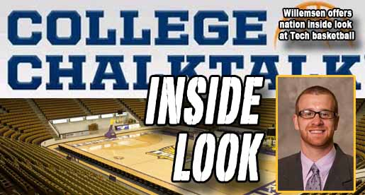 Golden Eagle assistant featured contributor on CollegeChalkTalk.com