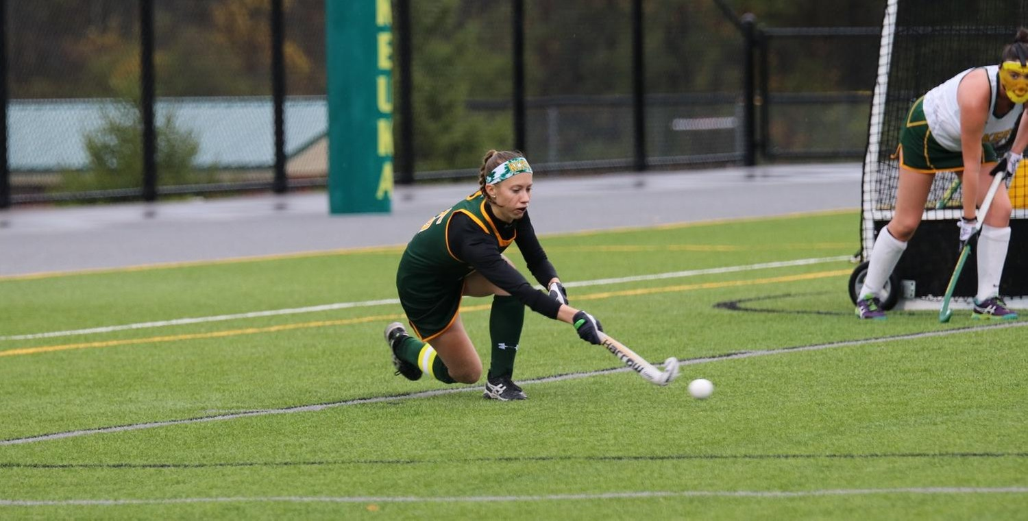 Taylor Lessard (5) scored the opening goal for Keuka College on Tuesday -- Photo by Trinity Gotthardt