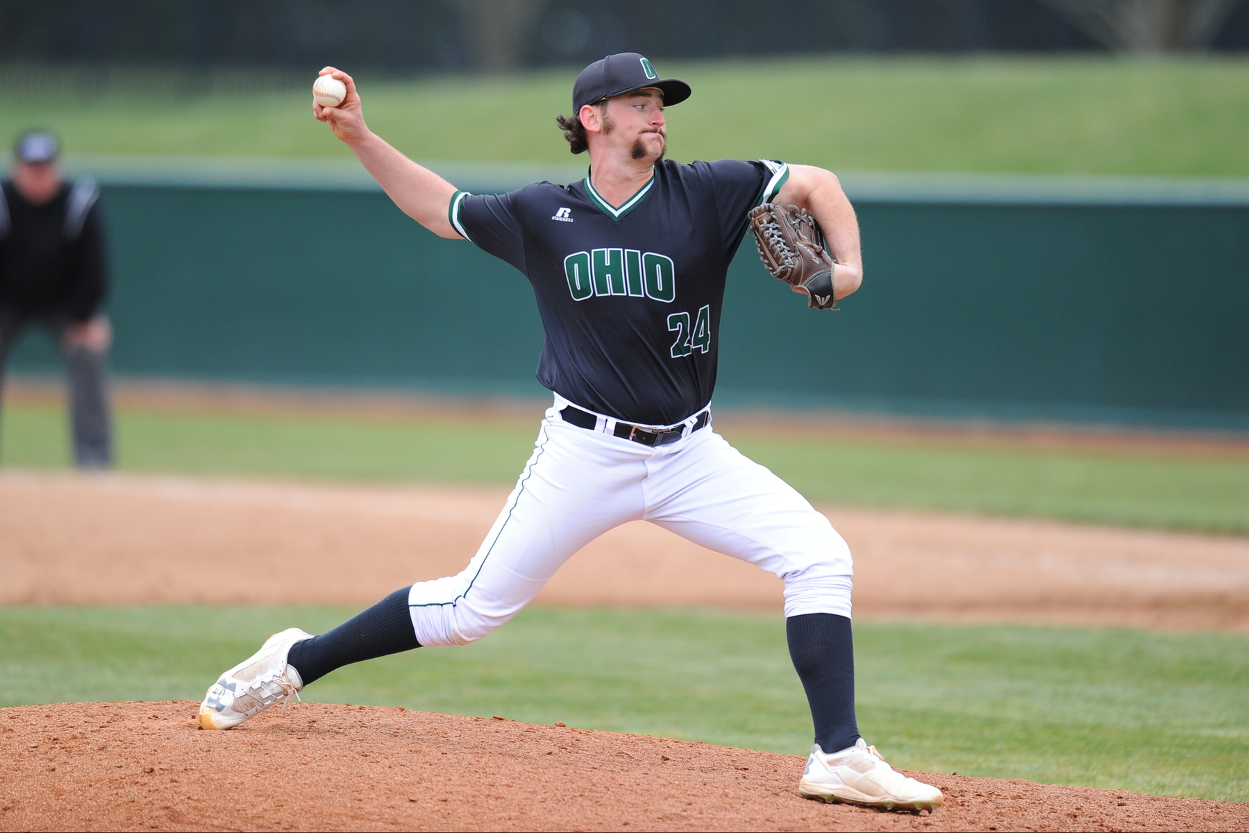 Roehn Breaks Career Saves Record As Ohio Baseball Sweeps Doubleheader From Rider