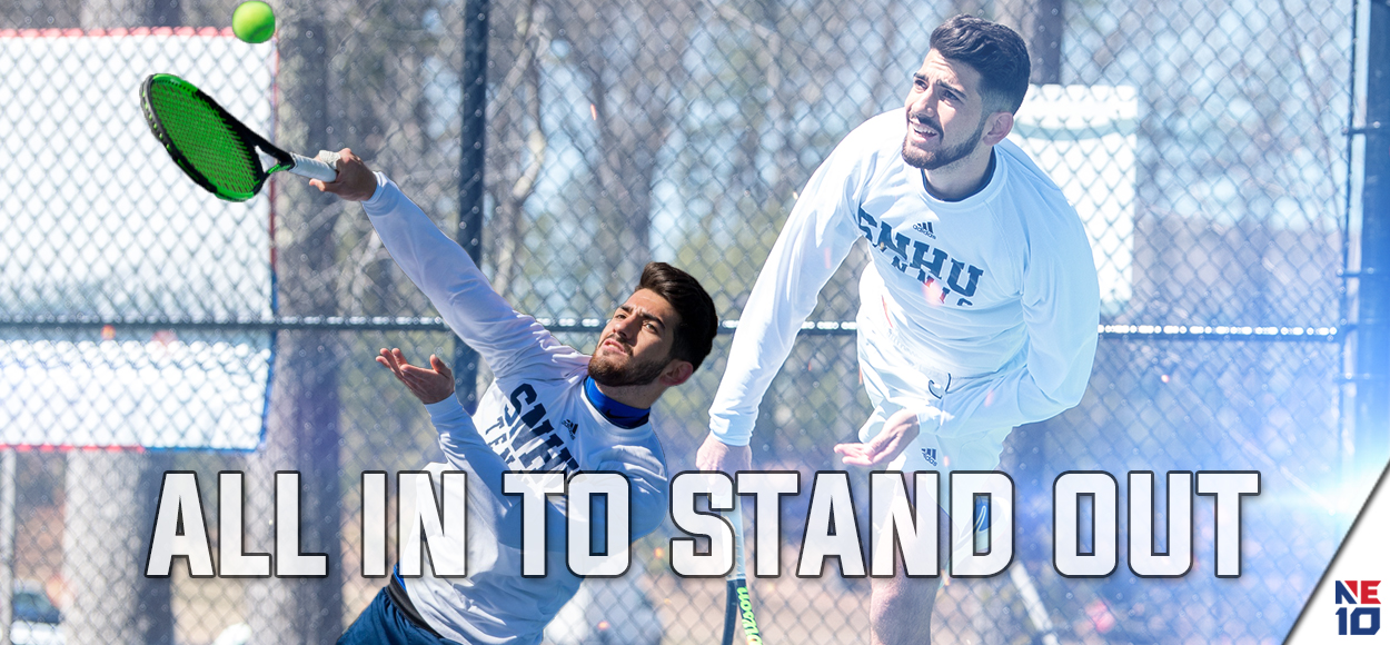 SNHU's Fernandes Earns Third-Straight Player of the Year, as NE10 Announces Men's Tennis Awards