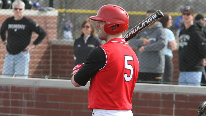 Jake Fryman had three hits against Akron.