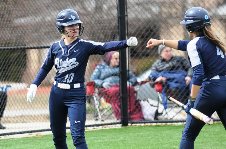 Softball: Raiders drop two games to Blue Jays, 12-5 & 3-2.