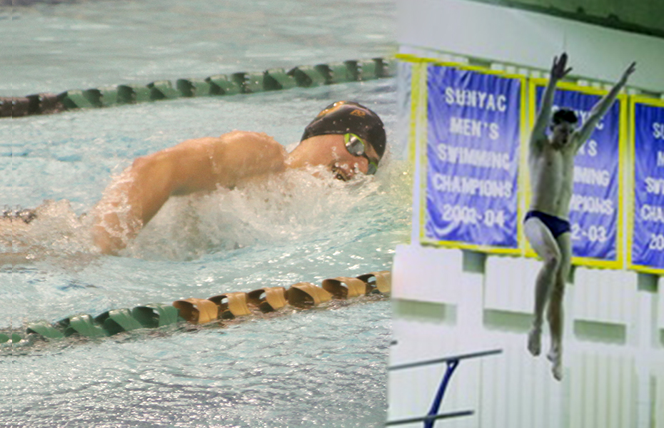 SUNYAC announces Men's Swimming & Diving Athletes of the Week