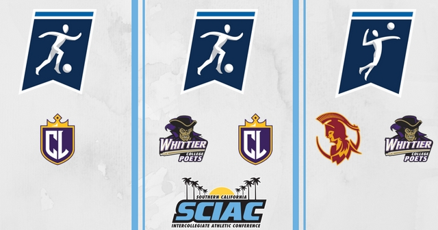 SCIAC Teams Head to NCAA Division III Championships in Men's and Women's Soccer and Women's Volleyball