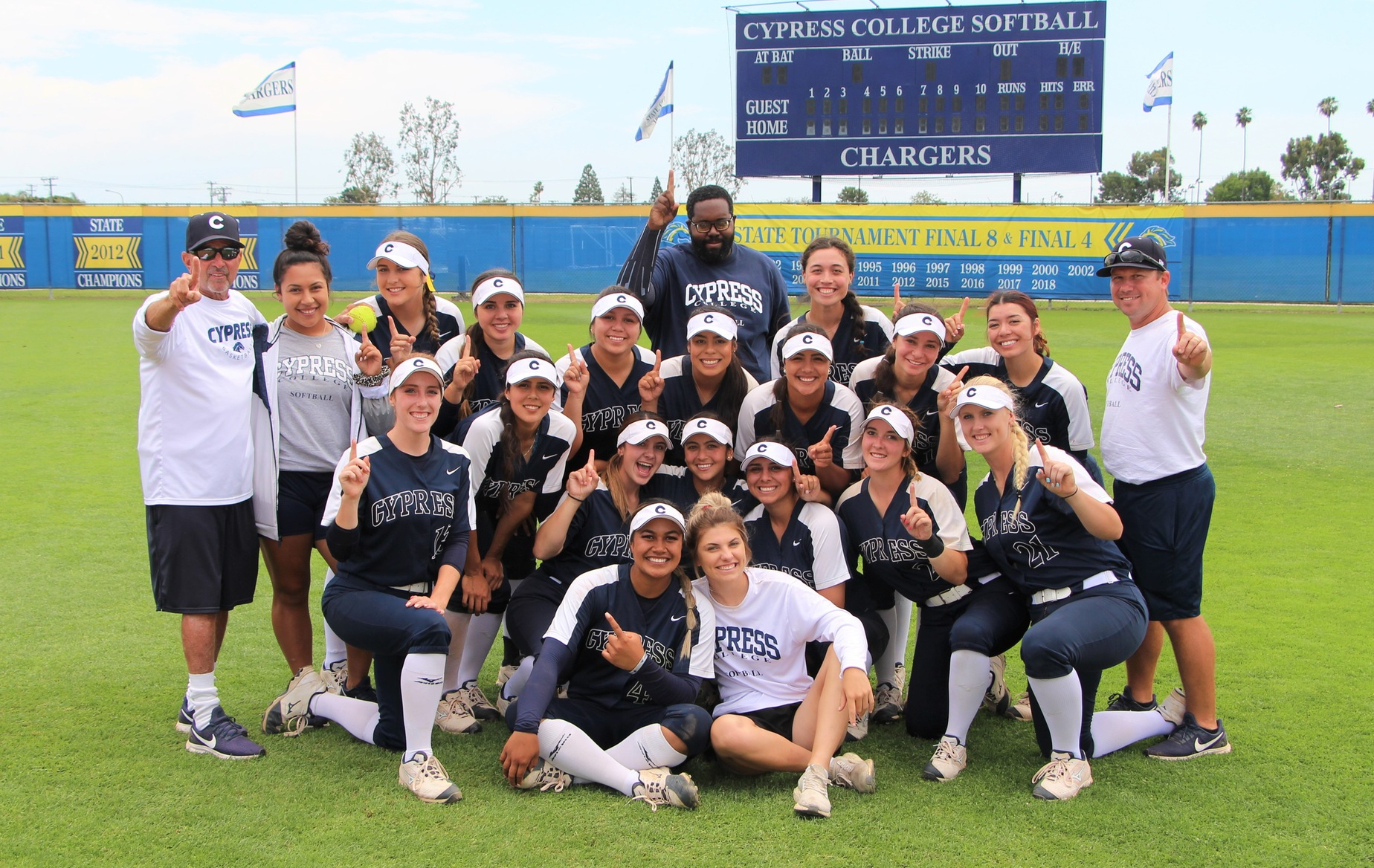 Cypress Softball Headed to Fifth Consecutive CCCAA State Championship Tournament