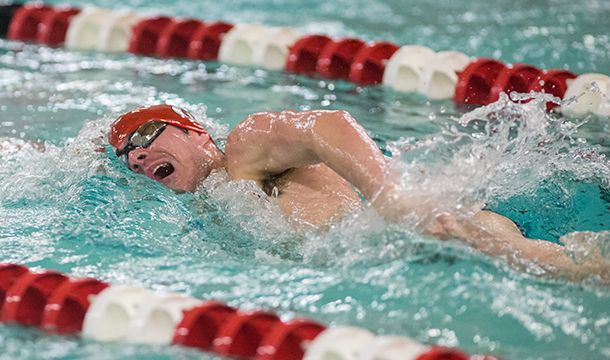 Men's Swimming and Diving Falls to Bears