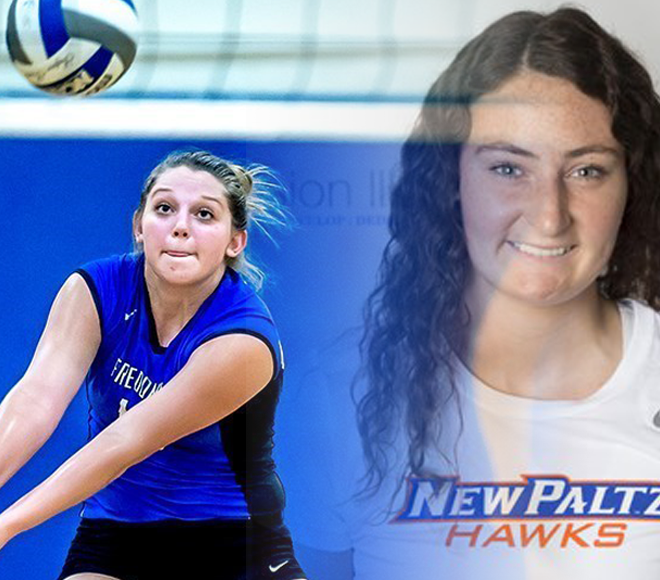Van Pelt, Aiello named Women's Volleyball Athletes of the Week
