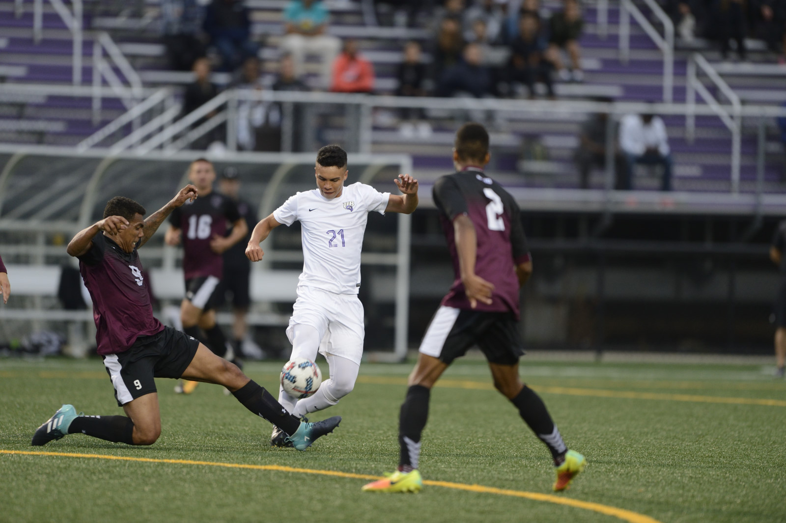 Men's Soccer Races Past New Haven, 4-1, In 2018 Season Opener