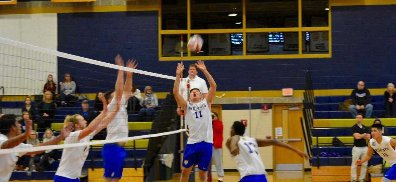 Men's Volleyball Beats Albertus Mangus 3-0