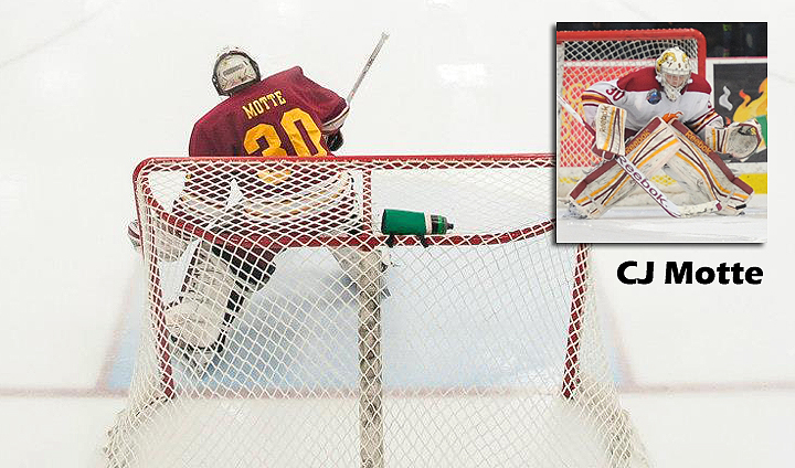 FSU's CJ Motte Tabbed As CCHA Goaltender Of The Week