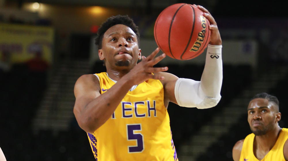 Tech men's basketball team back in Eblen Center to host Warren Wilson College Thursday
