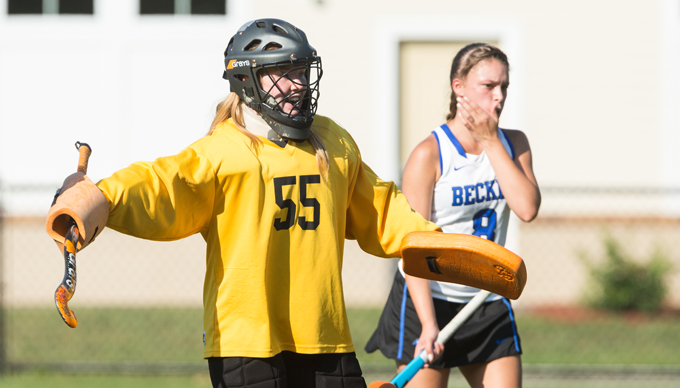 Sharks Swim Past Field Hockey, 2-0