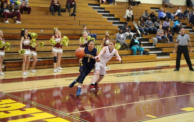 No. 16 Women's Basketball Wins Conference Opener at Saddleback in OT