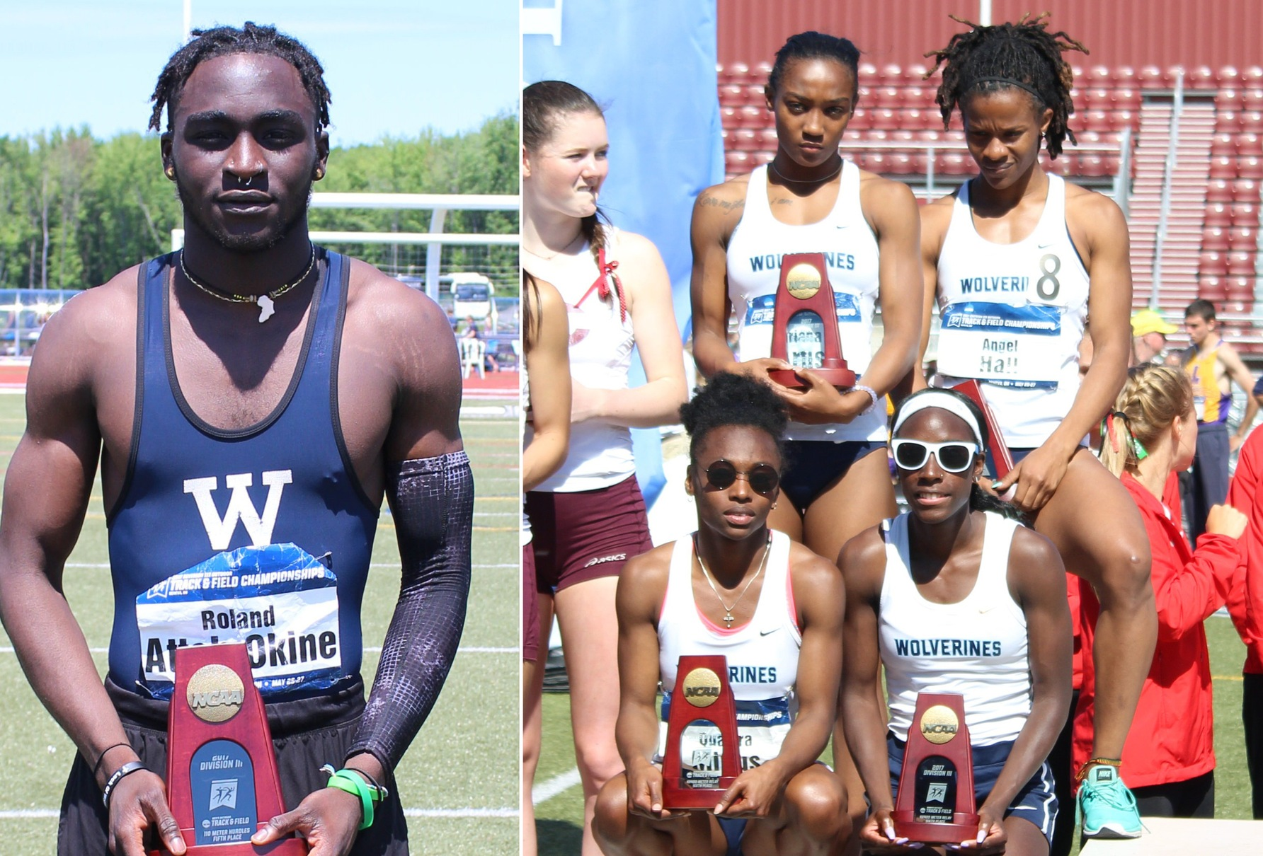 Attoh-Okine, Women's 4x4 become All-Americans at NCAA Championships