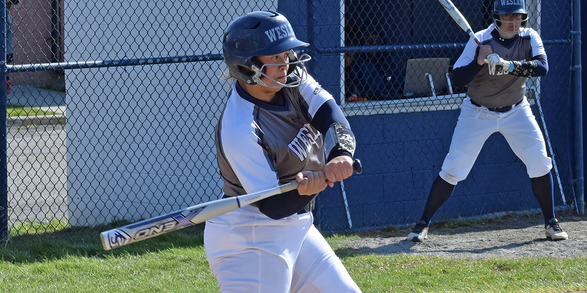 Softball picks up first CAC win of 2018 in split with Frostburg