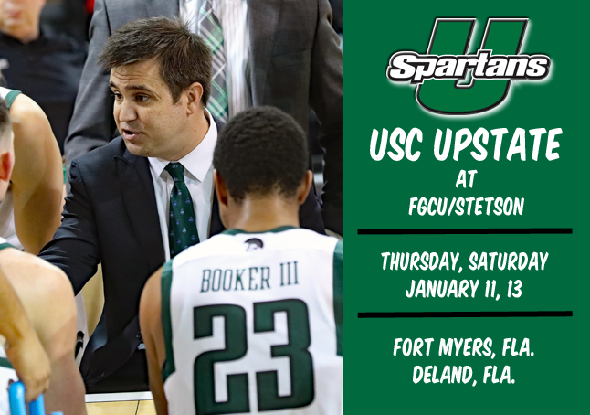 Upstate Finishes Conference-Opening Road Trip at FGCU, Stetson