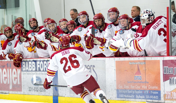 #19 Ferris State Hosts #4 Miami (Ohio) In CCHA Play This Weekend