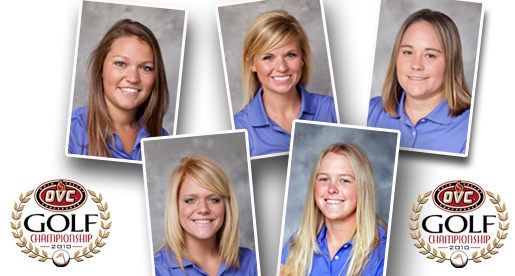 Women's golf team tees it up Thursday for OVC Championship run