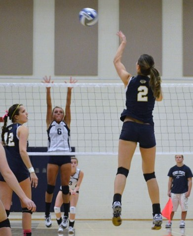Women's Volleyball Loses First Match at Home to Gallaudet
