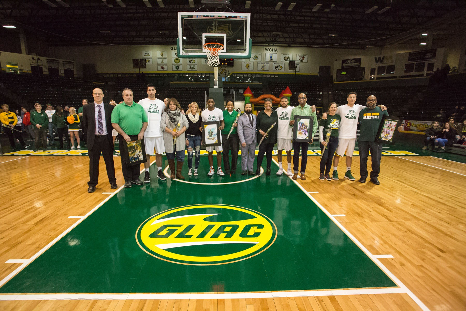 NMU Celebrates Senior Day with Victory Over Northwood