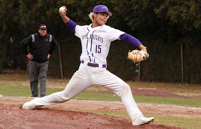 Purple Knights One-Hit Southern New Hampshire in 2-0 Loss, Swept in Twinbill