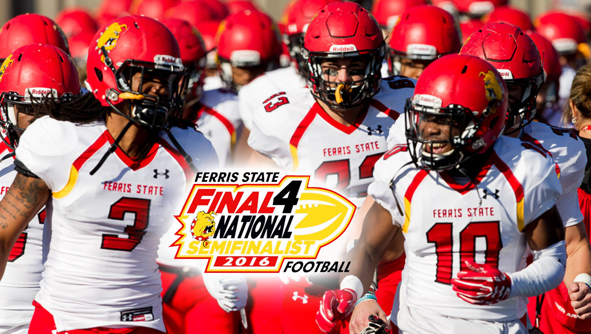 National Semifinalist Ferris State Opens 2017 Spring Football Practice Tuesday