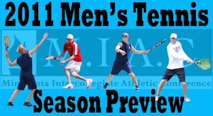 2011 MIAC Men's Tennis Coaches' Poll and Preview