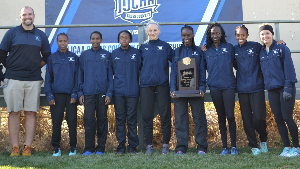 Triton women win national title