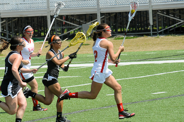 Huntingdon women's lacrosse clinches first winning season