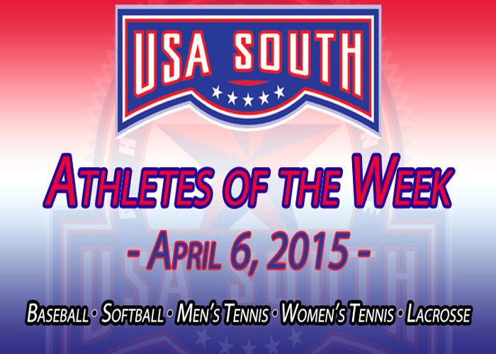 Messick and Still earn USA South Athlete of the Week honors