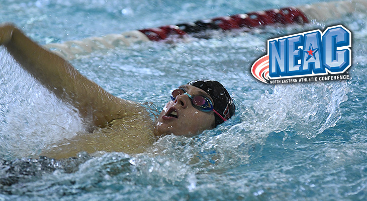 Connolly Earns NEAC Men's Swimming Honor