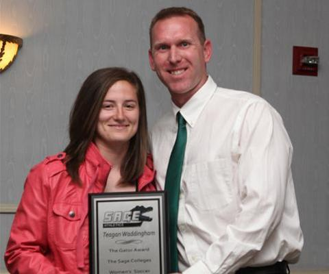 Sage Names Teagan Waddingham Women's Soccer Gator of the Year