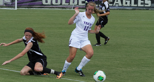 Tech soccer falls victim to early MTSU scoring brigade in 3-0 defeat