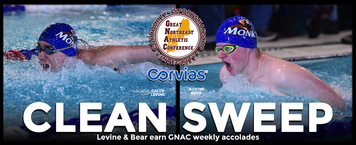 Bear & Levine Collect GNAC Weekly Honors
