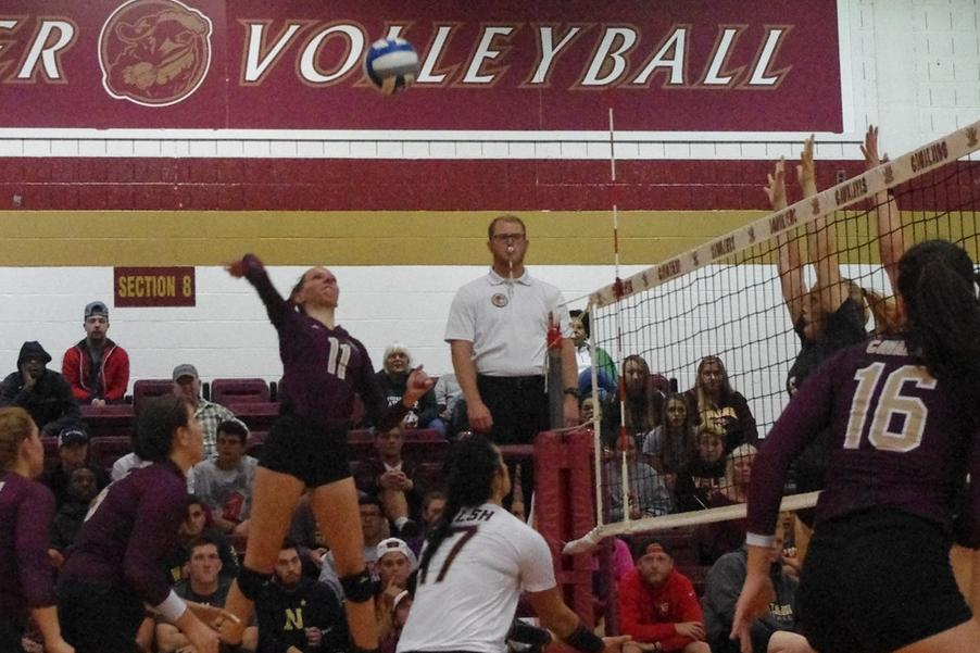 Volleyball Bounces Back, Beats ODU