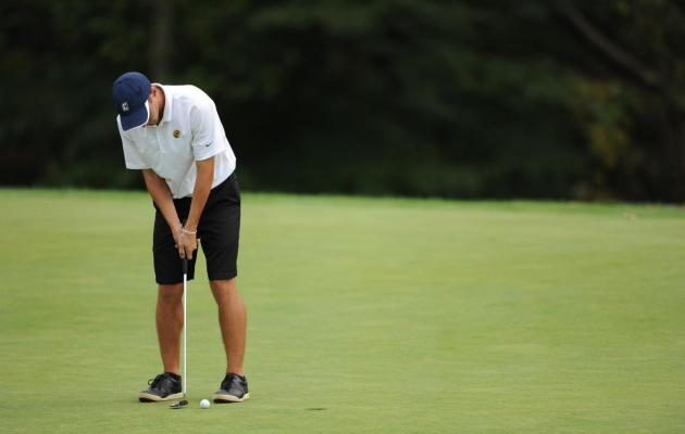 Men's Golf Finishes First Day at Kiawah Island Invitational One Under