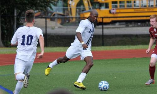 Men's Soccer Play to 1-1 Draw With Monks